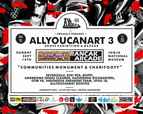 "14 September 2014 AYCA #3 PROUDLY PRESENT ""ALLYOUCANART 3"" SHOES EXHIBITION&BAZAAR @HALL AJIYASA"
