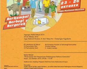 """23-26 Oktober 2014 JAGONGAN MEDIA RAKYAT 2014 """" BERKUMPUL-BERBAGI-BERGERAK"""" @Kompleks JNM"""