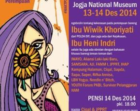 """13-14 Desember 2014 #HAKTP2014 """"BERANI BICARA itu ISTIMEWA"""" @Gedung JNM"""