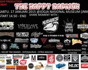 "17 Januari 2015 D.EIGHT PRODUCTION PRESENT ""THE HAPPY RADISON"" @Pendopo AJIYASA"