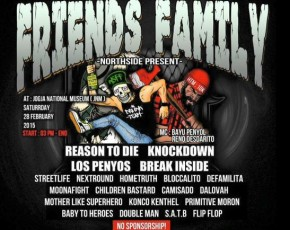 "28 Februari 2015 NORTHSIDE PRESENT ""FRIENDS FAMILY"" @Pendopo AJIYASA"