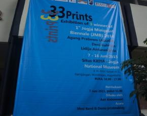 "7 - 16 Juni 2015 ""33 PRINTS"" @ Situs Kriya"