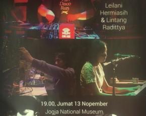 "13 November 2015 "" KONSER MUSIK  "" Biennale Jogja XIII"" at  Jogja National Museum"