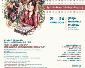 JAGONGAN MEDIA RAKYAT , 21 - 24 April 2016 @ Jogja National Museum