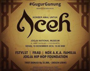 Konser Amal Untuk ACEH , 19 Desember 2016 @ Jogja National Museum