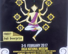 """kriya manggilingan"" craft-exhibition , UNY , 3 - 5 Februari 2017"