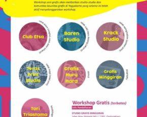 Pekan Seni Grafis Jogja 2017  Workshop / Lomba Grafis & Lomba Poster , 18 - 31 Juli 2017 @ Jogja National Museum