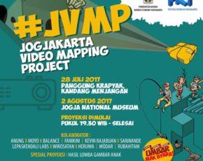#JVMP – JOGJAKARTA VIDEO MAPPING PROJECT  2 Agustus 2017 @Jogja National Museum