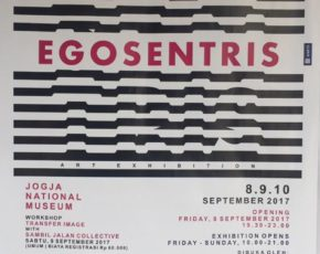 "Art Project of Yogyakarta State University #2 ""EGOSENTRIS"" , 8-10 September 2017 @jogjanationalmuseum"