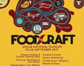 FOODCRAFT 23 - 24 September 2017 @ Jogja National Museum