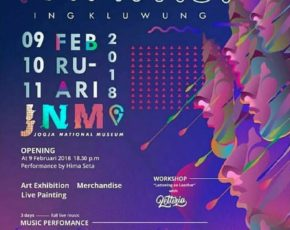 """Art Exhibition """"""""NYAWIJI ING KLUWUNG Yogyakarta State University . Di Jogja Nasional Museum Tanggal 9 - 11 Februari 2018"""