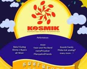 """Gathering KOSMIK #11 'suara rupa nusantara"""" - 6 Oktober 2018 @jogjanationalmuseum"""