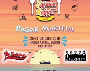 Pesta Jajanan Rakyat 'Pasar Maritim' 20-21 Oktober 2018 @jogjanationalmuseum