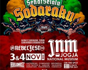 REBELFEST 3-4 November 2018 @jogjanationalmuseum