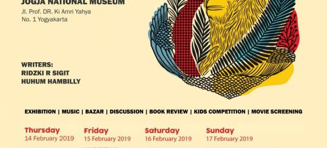 "#artorangutan3 - "" A GOOD LIFE FOR ORANGUTAN "" 14 - 17 February 2019 , @jogjanationalmuseum"