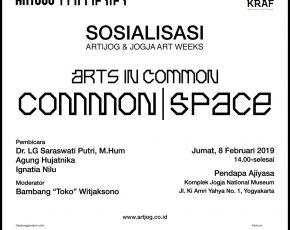 Sosialisasi ARTJOG & JOGJA ART WEEKS , 8 Februari 2019