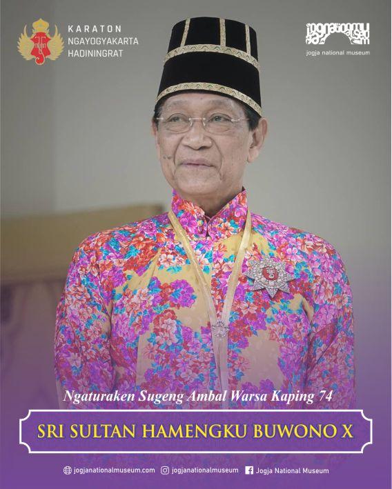 Sugeng Ambal Warsa Sri Sultan Hamengku Buwono X