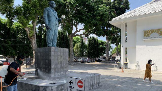 Penyemprotan Disinfektan Jogja National Museum