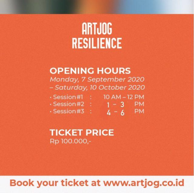Informasi Kunjung ARTJOG : Resilience