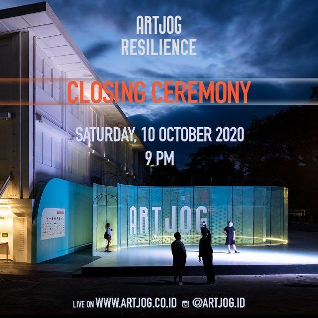 Closing Ceremony ARTJOG : Resilience