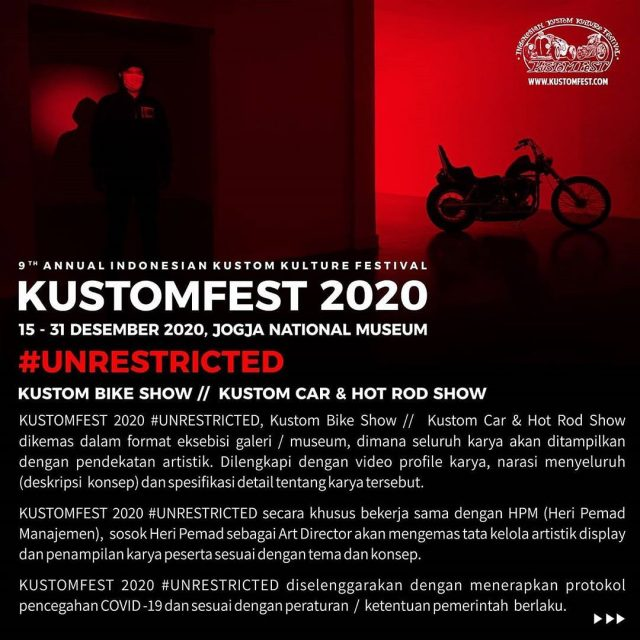 KUSTOMFEST 2020 #UNRESTRICTED