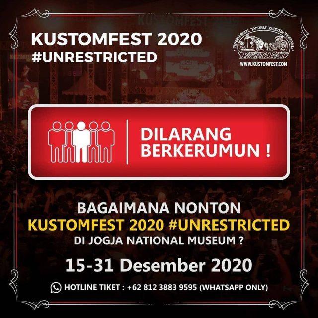 KUSTOMFEST 2020 #UNRESTRICTED